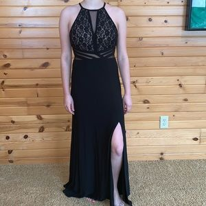 Black Lace Prom/Homecoming Dress
